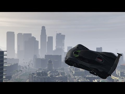 GTA 5 Online | Vehicle Gate Launch Glitch,...
