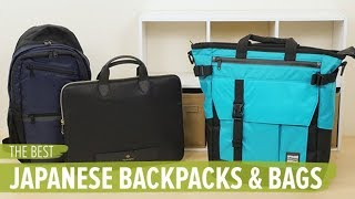 The Best Japanese Backpacks and Bags