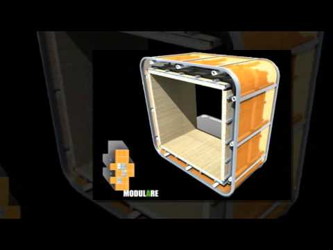 Sliding Hubs Prefab Modular Housing Has 64 Different Combinations