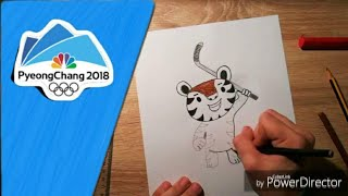 How To Draw Soohorang | PyeongChang 2018 Mascot | Winter Olympic Games