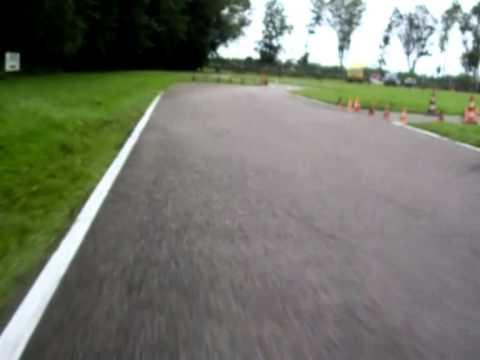 Midland Kart Circuit Lelystad - Rental Karting Onboard Head Cam