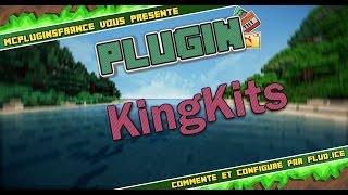 [FR] Minecraft Plugin Bukkit - KingKits - Créer des kits pour arènes !