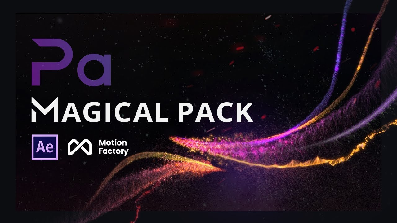 Particle Builder | MAGICAL Pack: Magic, Shockwave, Awards, Fireworks |  After Effects Particle FX