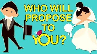 Who will propose to you? love personality test | mister test