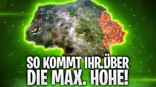 SO KOMMT IHR ÜBER DIE MAX. HÖHE! ⬆️ | Fortnite: Battle Royale