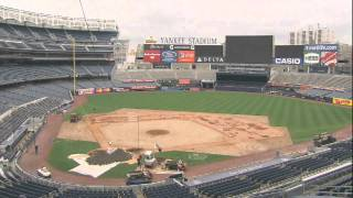 From Baseball to Football: Time Lapse Footage of Yankee Stadium - 11/19/10