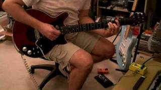 "Video Demo for C.G.E. Pedal - ""THE INCINERATOR"" Treble Booster w/ Brian May Red Special Guitar"
