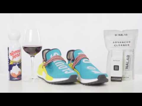 Human Race Sun Glow vs Red Wine and Cream- Extreme Cleaning Test