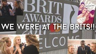 @London at The Brit Awards 2017