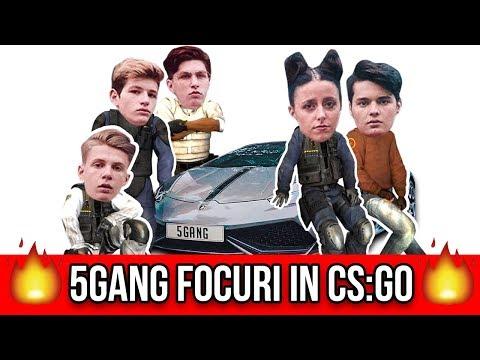 5GANG FOCURI IN CS:GO !