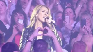 Celine Dion - Love Of My Life  Queen Cover  - Live At Leeds Arena   Sun 25th Jun