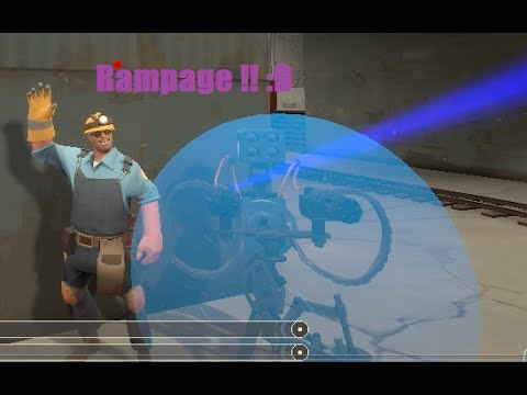 Team Fortress 2 [HD] Associal Engineering/18.5 Kills Rampage in Pub :D