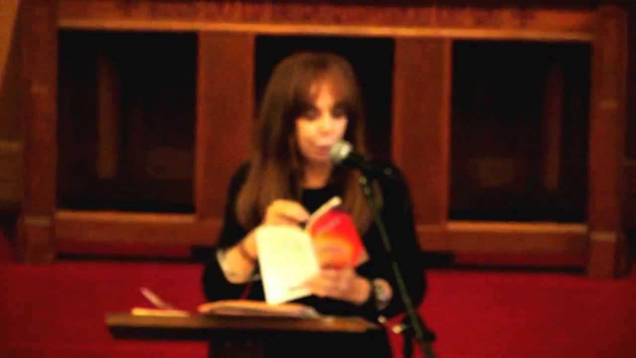 foto de Laura Boss reading at Woody Guthrie Festival Ridgewood
