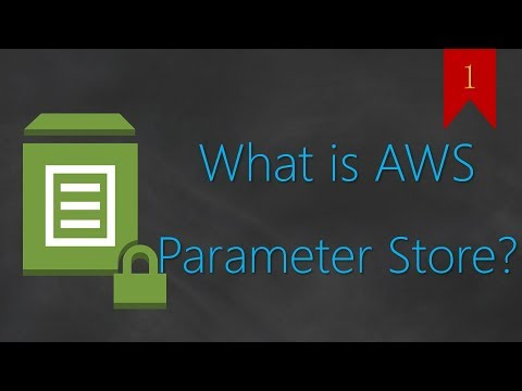 01 - What Is AWS Parameter Store? | Secrets & Credential Management |  Environment variables