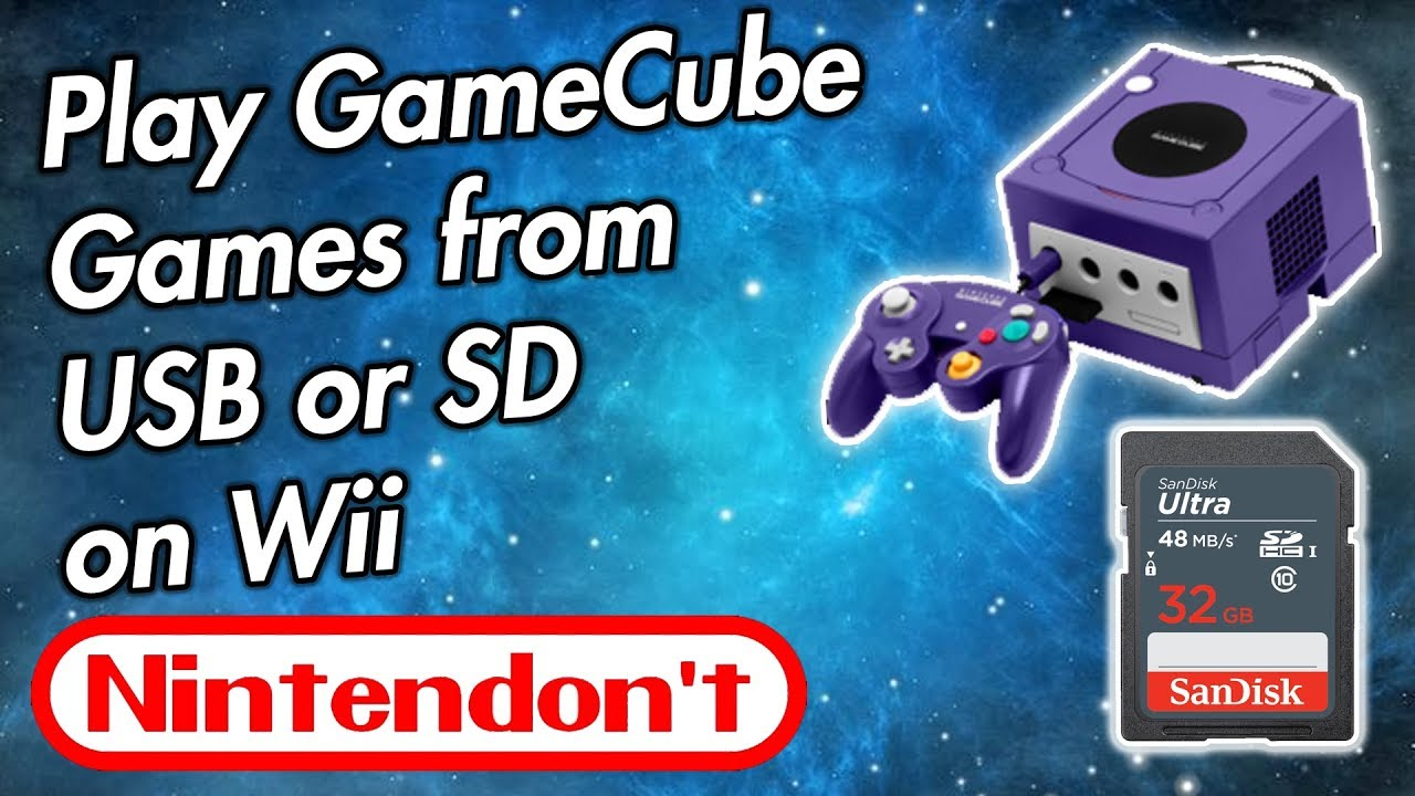 How To Backup Gamecube Games On Wii Usb Loader ...