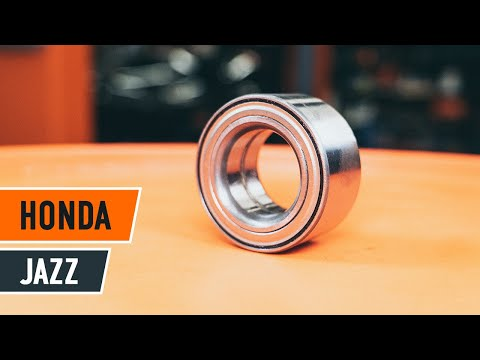 How to replace front wheel bearing HONDA JAZZ GD TUTORIAL AUTODOC
