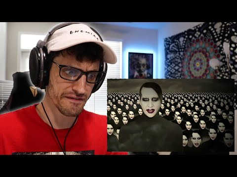 It GROWS On You!! | Marilyn Manson - WE ARE CHAOS (REACTION) @Marilyn Manson