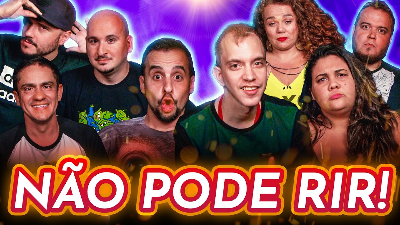 NÃO PODE RIR! com Per Christian, Jhonny Drumond, Pri Nobre e Michelle Ferrucio