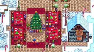 How to give Secret Gift during Winter Star Festival - Stardew Valley