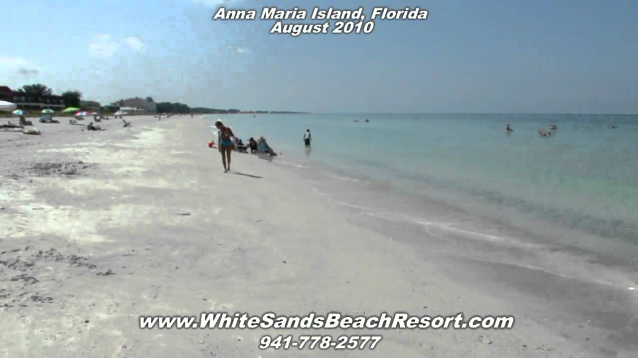 White Sands Beach Resort Anna Maria Island Holmes Florida You