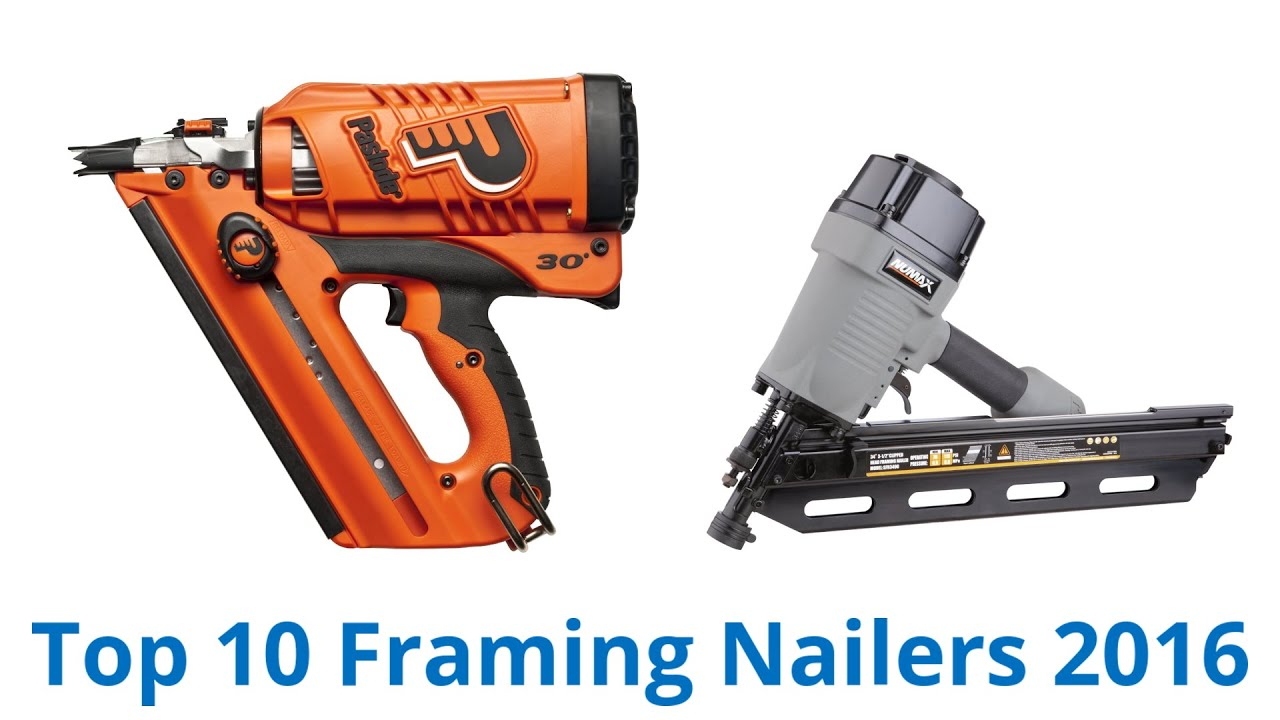 10 Best Framing Nailers 2016 - YouTube