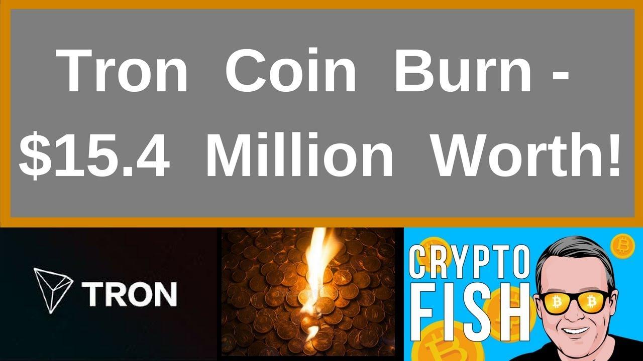 Tron Coin Burn - 15 4 Million Worth!