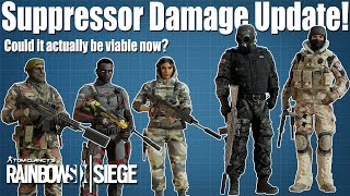 Suppressor Damage Has Changed A LOT! - Rainbow Six Siege