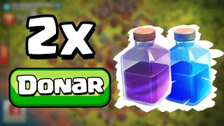 BUG: Donar 2x HECHIZOS en clash of clans