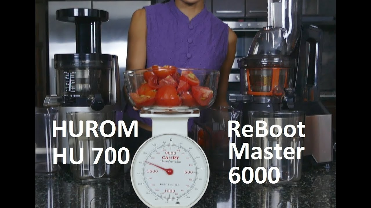 Slow Juicer Thailand : ??????????????????????????????????????? Hurom and Reboot master 6000 slow juicers comparison ...