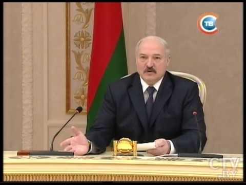 CTV.BY: Александр Лукашенко встретился с главой Чувашской Республики Михаилом Игнатьевым 09.04.15