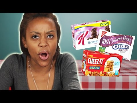 People Try 100 Calorie Snack Packs