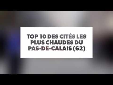 TOP 10 des pires cités du 62 (Pas-de-Calais) 2017