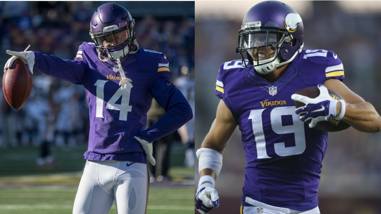 Highlight Battle Stefon Diggs VS Adam Thielen