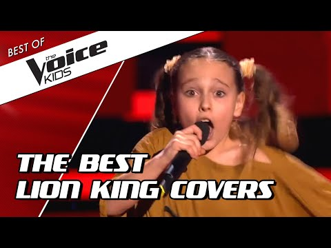 TOP 10 | FANTASTIC LION KING Covers In The Voice Kids