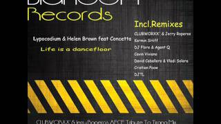 Lypocodium & Helen Brown feat Concetta - Life Is A Dancefloor (DJTL One Remix)