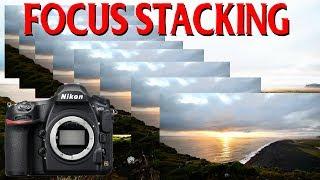 Focus Stacking Tutorial - Nikon D850