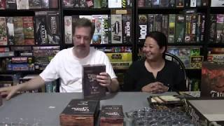Unboxing Village Attacks by Grimlord Games