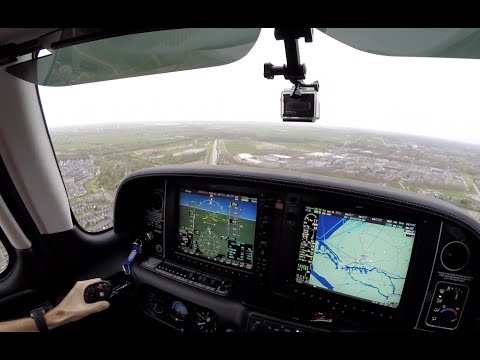 IFR Flight VLOG -  Rotterdam (EHRD) ILS Approach | ATC Audio