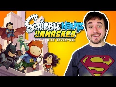 Sou Muito Super-Herói! - Scribblenauts Unmasked