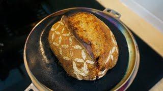 [기록]더치오븐 첫 사용기 & 첫 우리밀 시골빵 베이킹