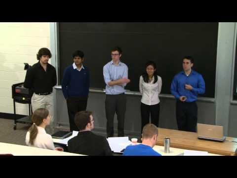 Student Project Presentations - Part 1