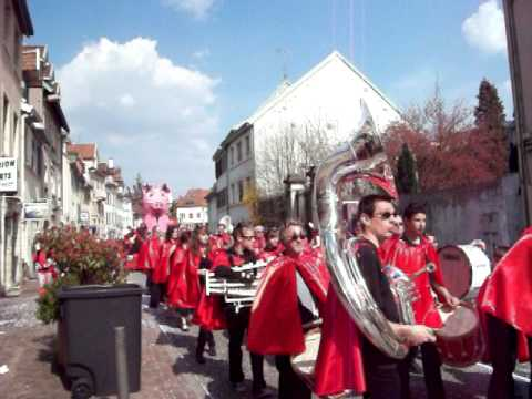 Carnaval Du Montbéliard 18th April 2010.MOV
