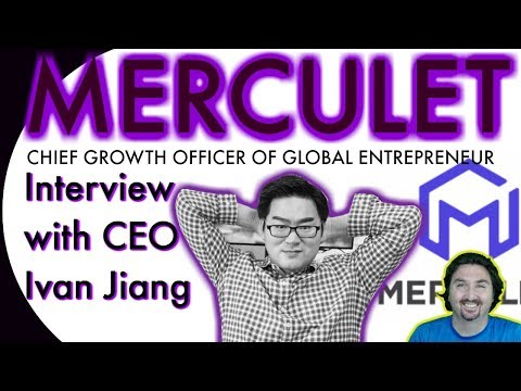 Merculet CEO Ivan chats with BCB about being the Chief Growth Officer of Global Entrepreneurship