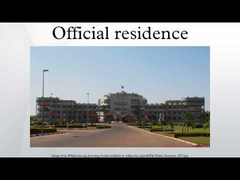 Official residence
