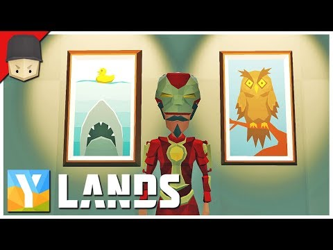 YLANDS - ART GALLERY! : Ep.37 (Survival/Crafting/Exploration/Sandbox Game)