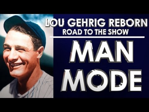 MAN MODE! - MLB 13: The Show - Road to the Show - Lou Gehrig: Episode 10 (RTTS)
