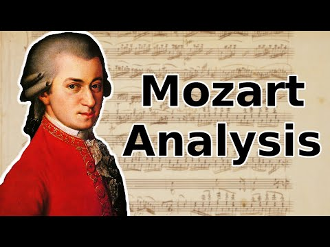 Harmonic Analysis: Piano Sonata No.16 Mov. 2 (KV 545) - W.A. Mozart
