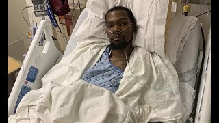 Kevin Durant Speaks From Hospital After Surgery On His Achilles