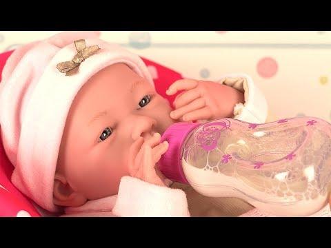 Poupon Reborn Réaliste Petite Fille Berenguer Boutique Tenue Rose