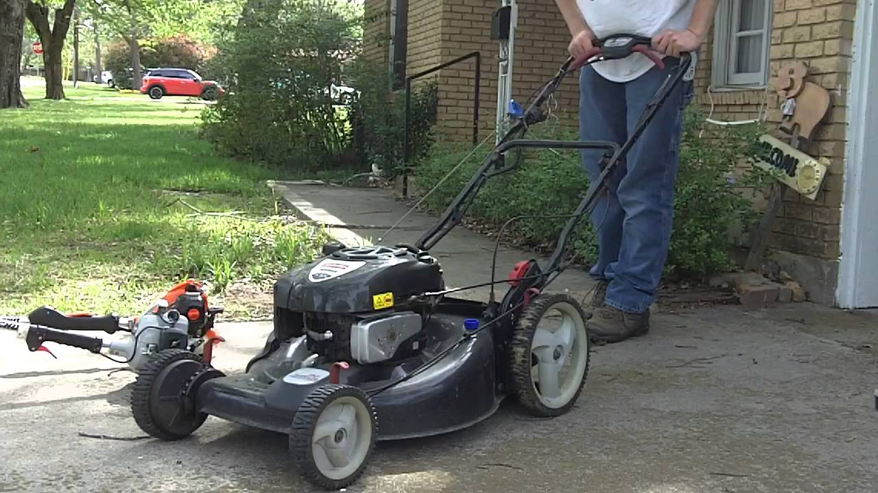 Getting The 2010 Craftsman 22 Ez2walk Self Propelled Mower Running